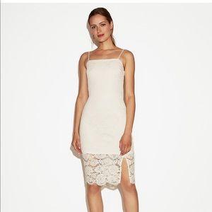 NWT EXPRESS Sz. 8 Lace Dress w/ Straps